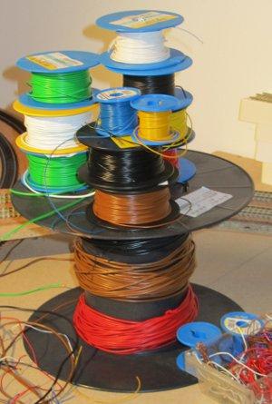 jede Menge Kabel